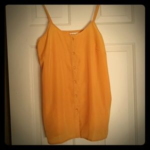Tops - Button down Yellow top